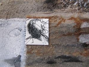 peinture acrylique sur vélin d' Arches